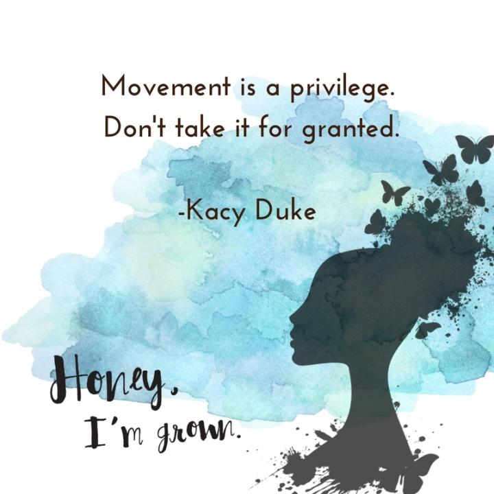2018-jan-movement is a privilege