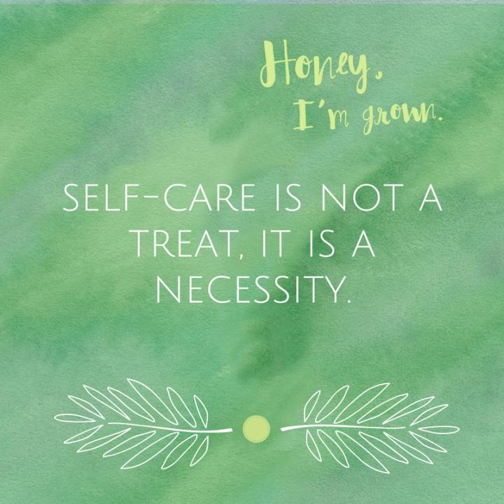 self-care-necessity